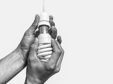 Hands Led Bulb | GreenBee