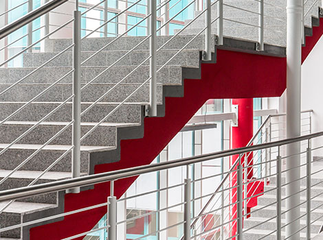 Staircases Rails Pole Windows | GreenBee