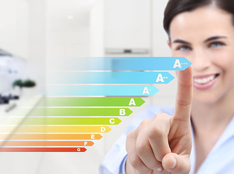 Woman Energy Efficiency Chart | GreenBee