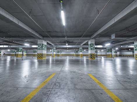 Parking Garage Lights | GreenBee