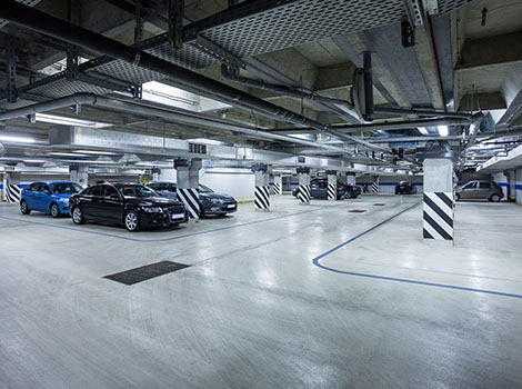 Parking Garage Cars | GreenBee