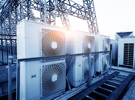 Hvac Units Stacked Rooftop | GreenBee