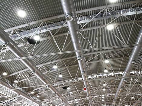 Warehouse Ceiling Lighting | GreenBee