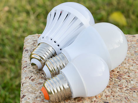Led Bulbs Concrete Grass | GreenBee