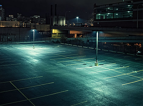 Parking Lot Night | GreenBee