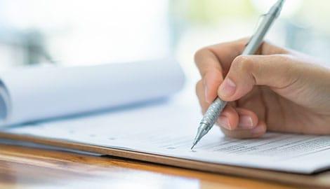Pen Paperwork Clipboard | GreenBee